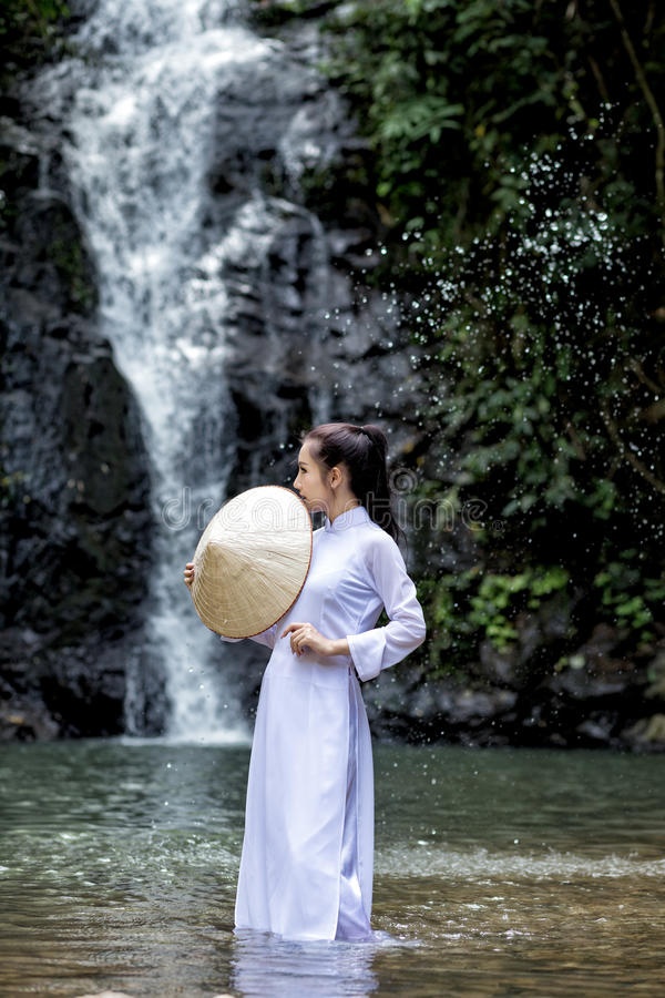 Vietnam women royalty free stock images