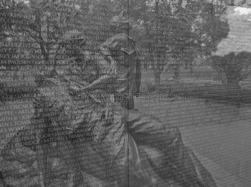 Designed By Maya Lin, The Vietnam Veterans Memorial Is A U.S. National  Memorial In Washington, D.C. It Honors Service Members Of The U.S. Armed  Forces Who ...