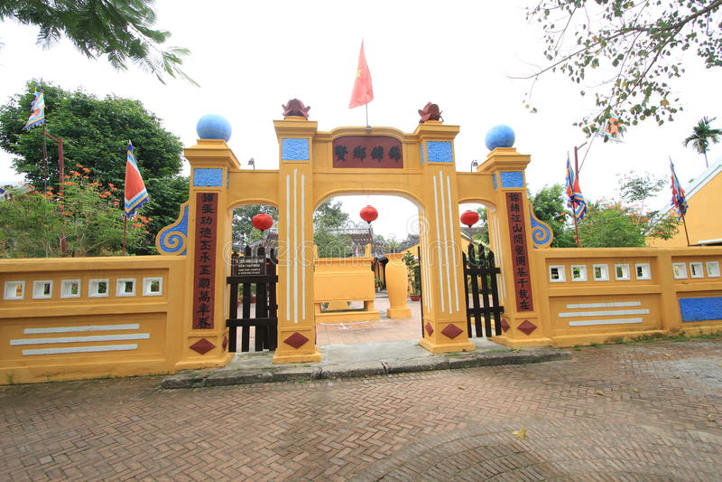 Vietname Hoi An street view royalty free stock photo