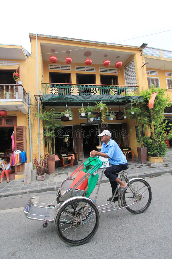 Vietname Hoi An street view stock images