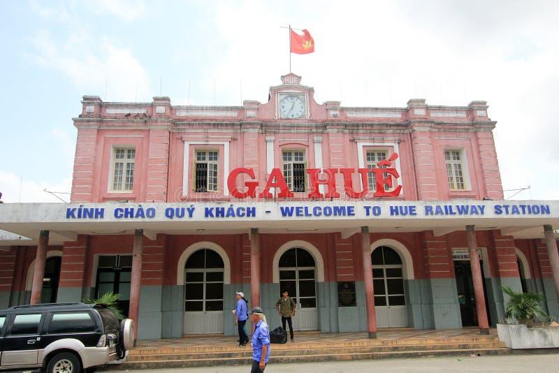 Vietname Hue Railway Station royalty free stock photography