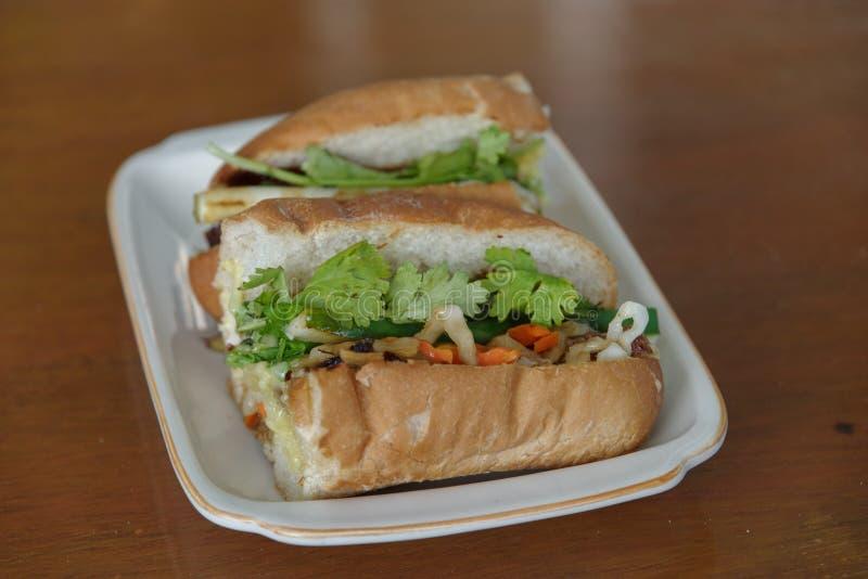 Vietnamees brood banh mi stock afbeeldingen