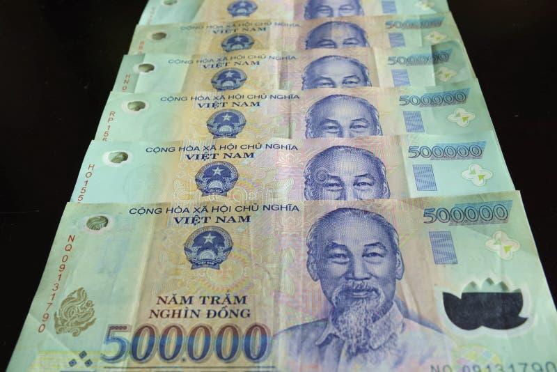 Vietnamees dong royalty-vrije stock afbeeldingen
