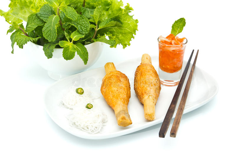 Vietnamees voedsel royalty-vrije stock foto