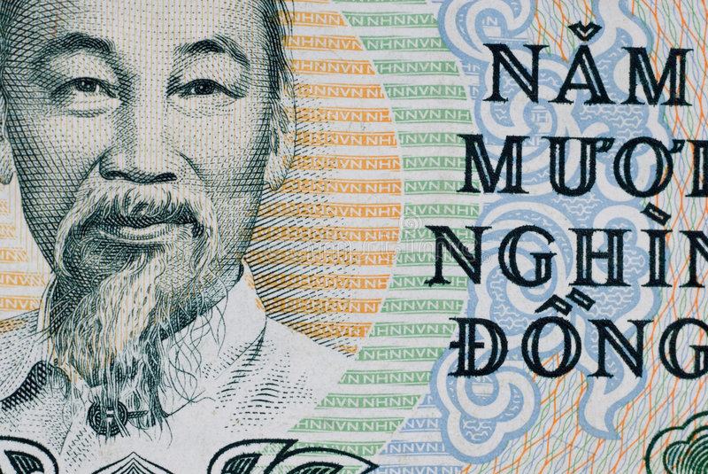 vietnames för 50000 dong royaltyfri foto