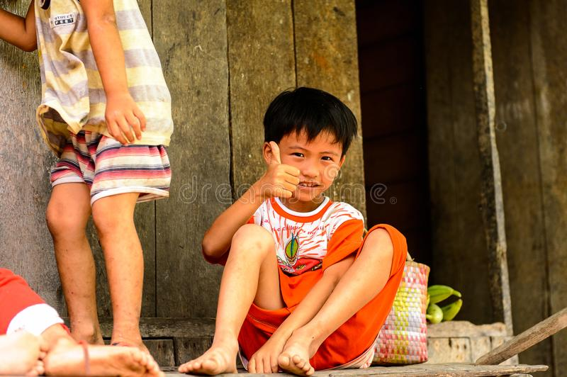 Vietnamese children royalty free stock photos