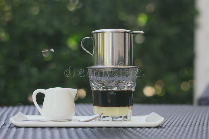 Vietnamese coffee royalty free stock photography