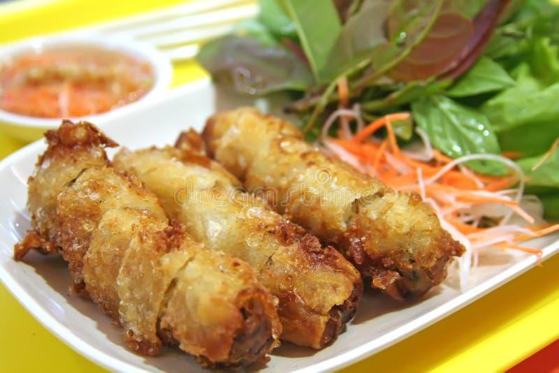 Vietnamese de lentebroodjes royalty-vrije stock fotografie
