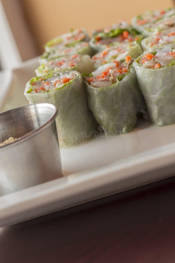 Download Vietnamese De Lentebroodjes Stock Foto - Afbeelding bestaande uit dieet, saus: 54092052