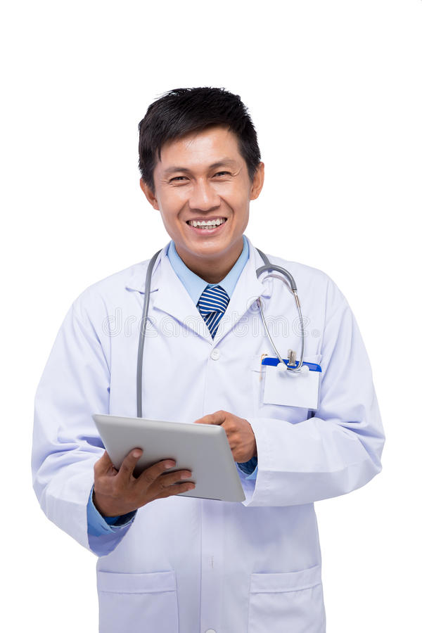 Vietnamese doctor royalty free stock photography