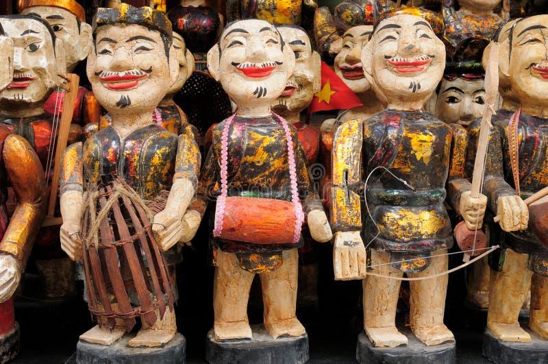 Vietnamese dolls royalty free stock photo