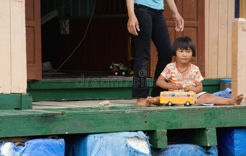 Vietnamese Girl royalty free stock image