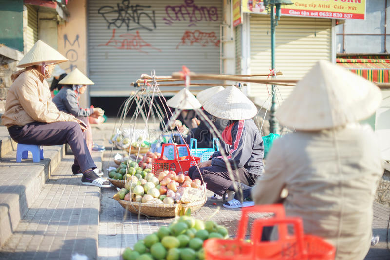 Vietnamese daily life royalty free stock image