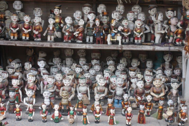 Vietnamese Marionetten royalty-vrije stock fotografie