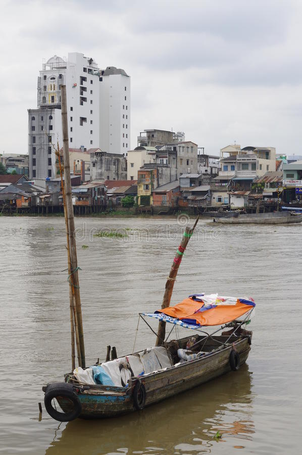 Vietnamese Mekong Delta royalty free stock photos