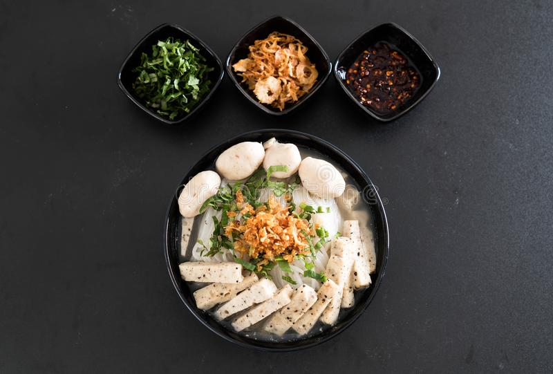 Vietnamese noedels (pho) stock foto