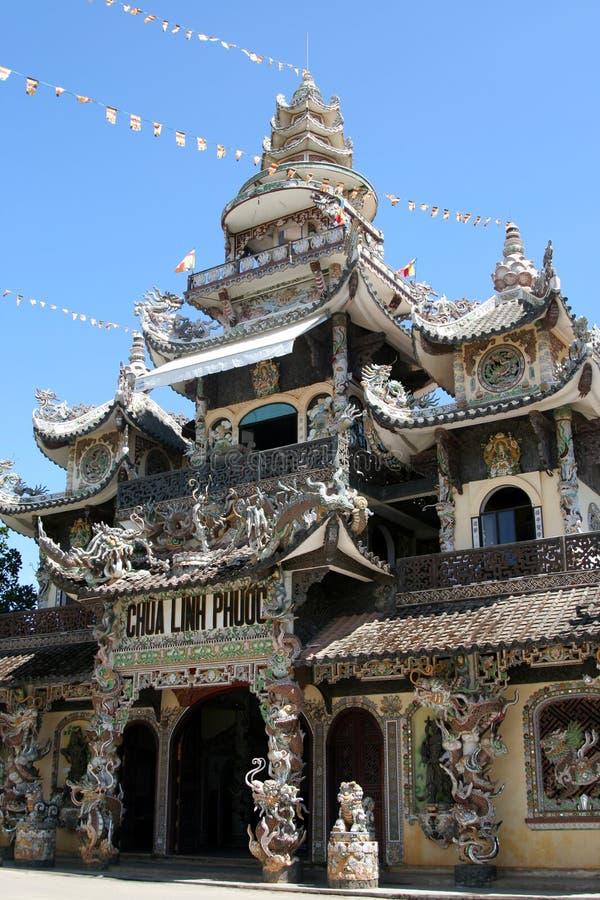 VIETNAMESE PAGODA royalty free stock images
