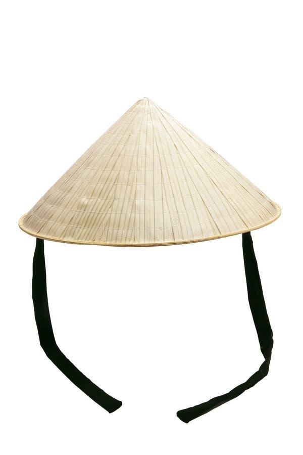 Vietnamese Rice Hat stock photography