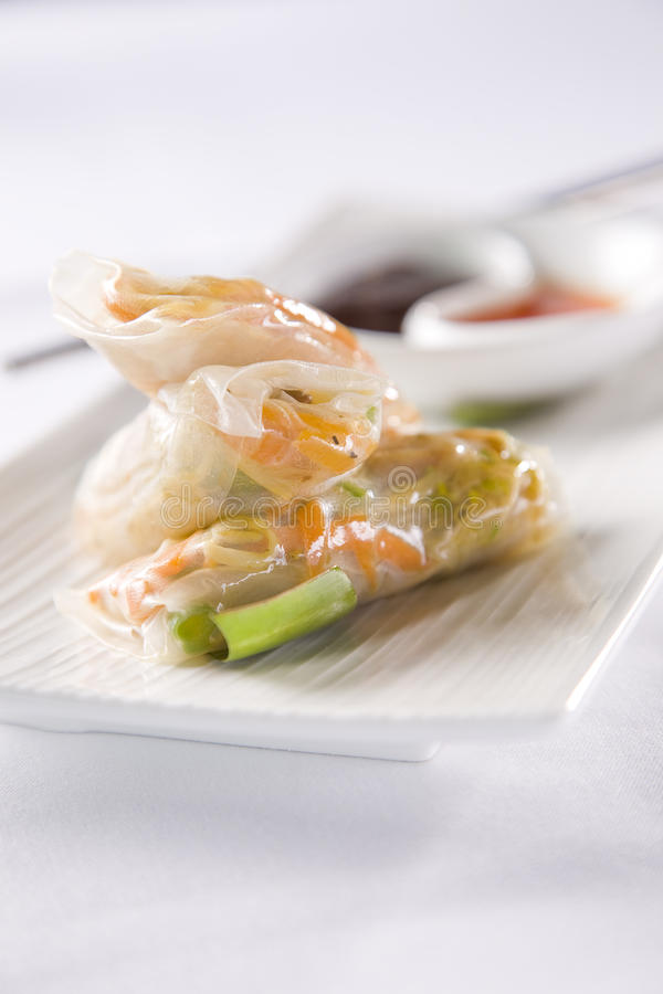 Download Vietnamese Rolls stock photo. Image of appetizer, course - 12208738