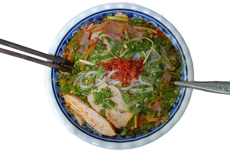 Download Vietnamese Spicy Beef Noodle (Bun Bo Hue) Stock Photo - Image: 22916018