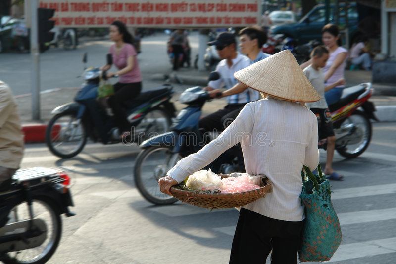 Download Vietnamese Street Life stock photo. Image of urban, cyclist - 2010126