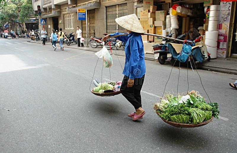 Vietnamese Street Life royalty free stock photo
