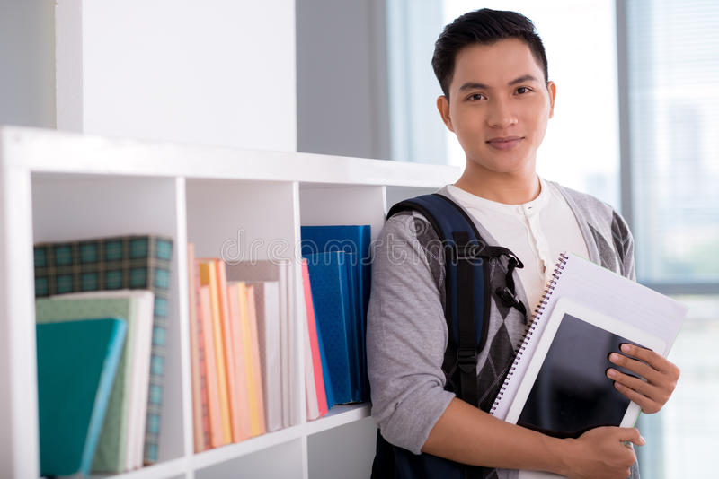 Vietnamese student stock afbeelding