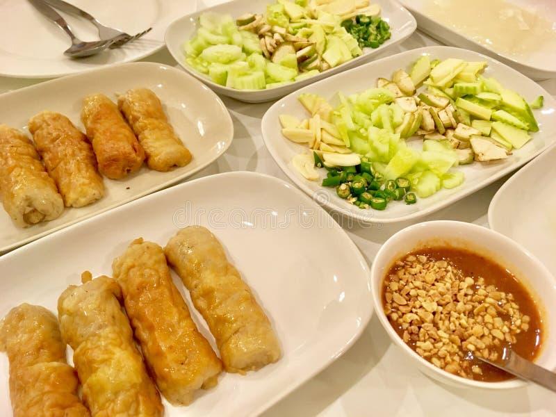 Vietnamese Varkensvlees en Groenten royalty-vrije stock foto
