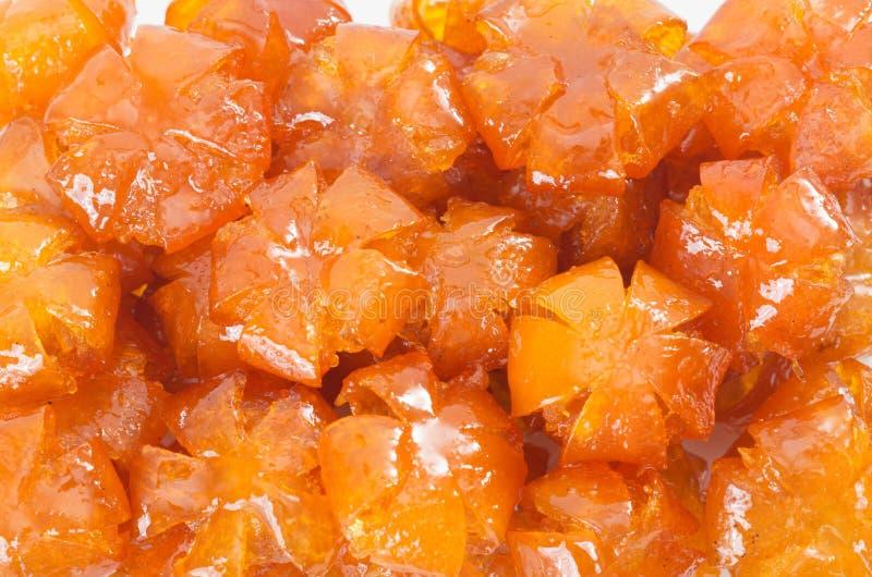 Vietnamese versüßte japanische Orangen stockfoto