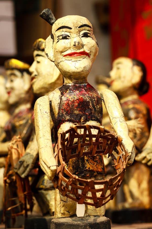 Vietnamese Water Puppets stock photo