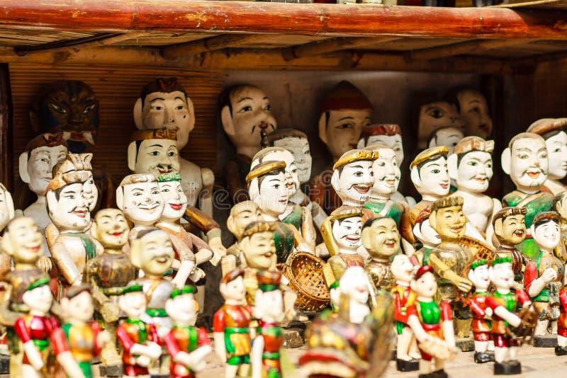 Vietnamese Water Puppets stock photos