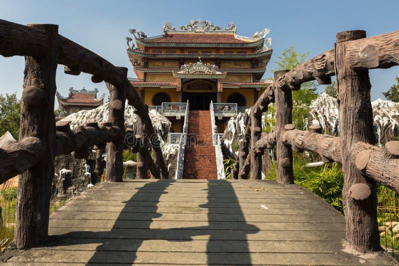 Vietnamesischer Tempel Lumbini lizenzfreies stockfoto