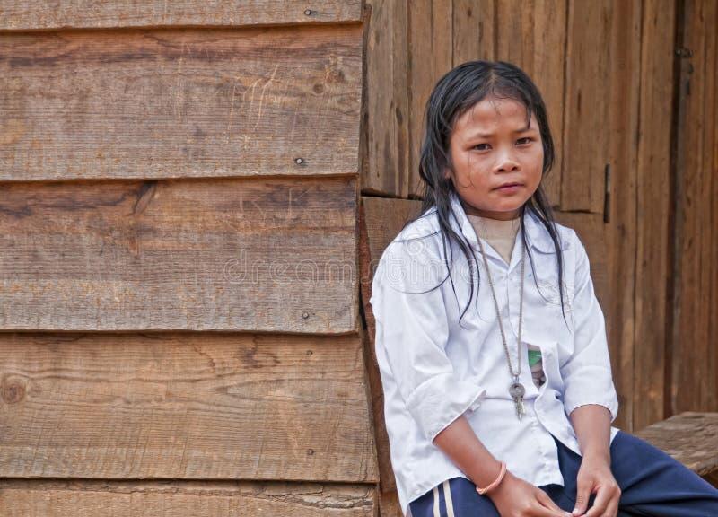 Vietnamesisches Mädchen stockfotos