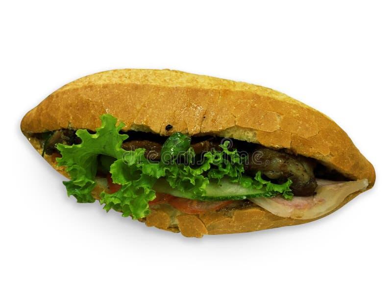 Vietnamesisk smörgås arkivbild