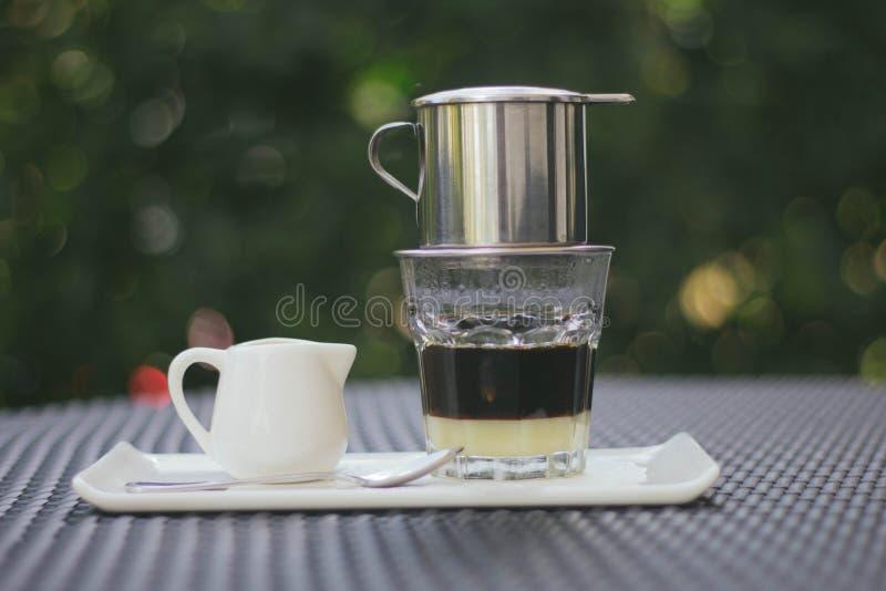 Vietnamesiskt kaffe royaltyfri bild