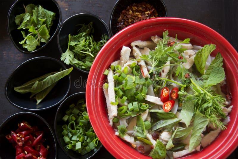 Vietnamita clásico Pho imagen de archivo