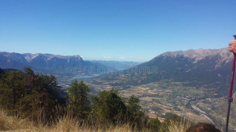 Vieuw de montagne photographie stock libre de droits