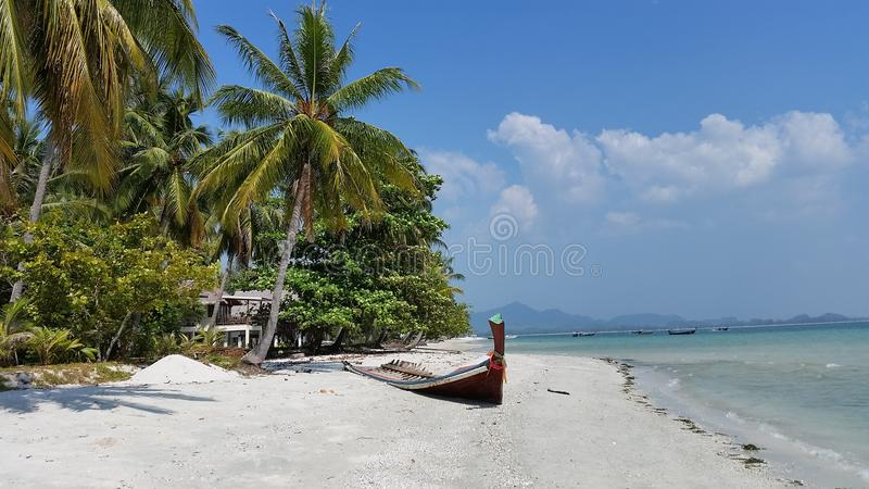 Vieuw della spiaggia fotografia stock