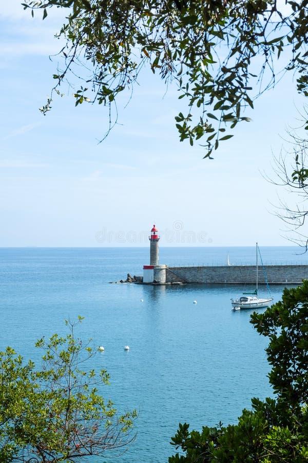 Vieux口岸,旧港口,在巴斯蒂亚,法国 免版税库存图片