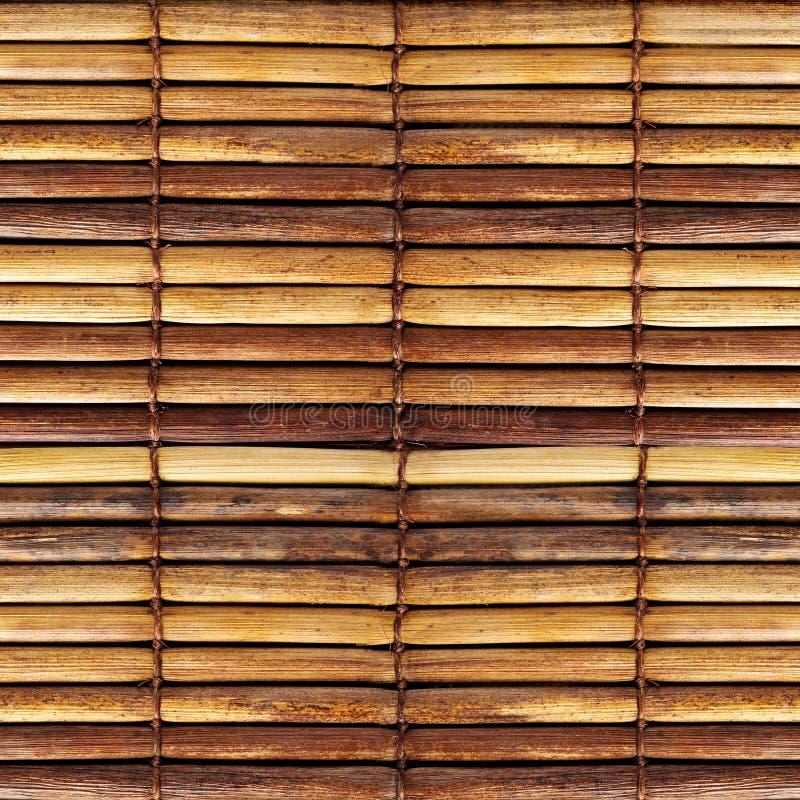 Vieux abat-jour de bambou photographie stock