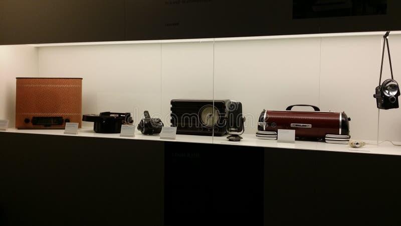 Vieux appareils électroniques images stock
