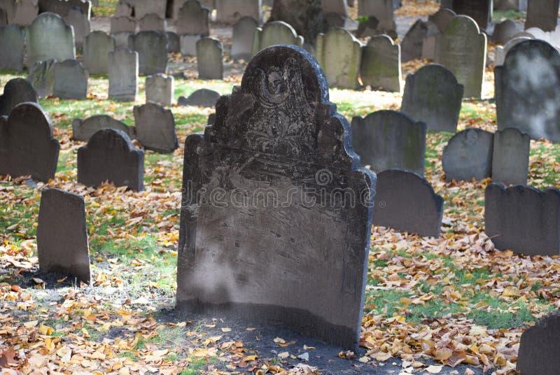 Vieux au sol d'enterrement à Boston, le Massachusetts photographie stock