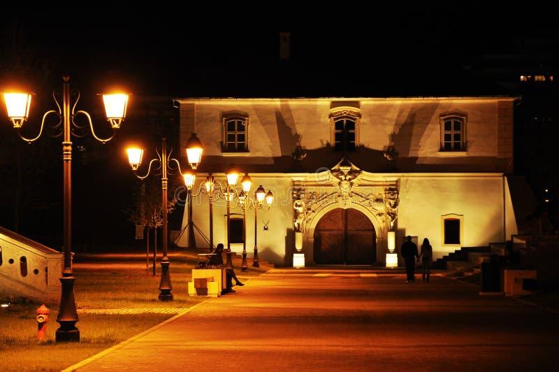 Vieux bâtiment baroque photographie stock