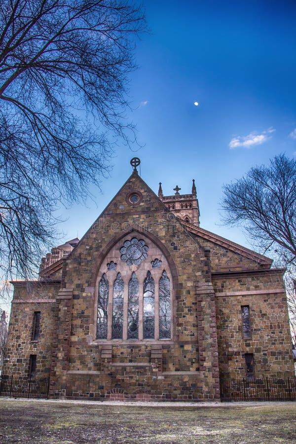 Vieux bâtiment chez Yale University image libre de droits