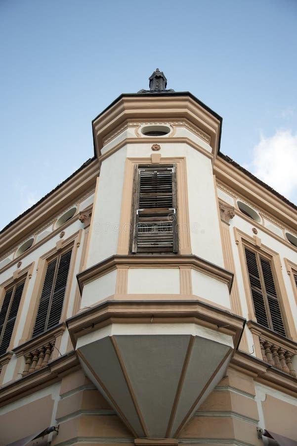 Vieux bâtiment dans Bitola, Macédoine images libres de droits