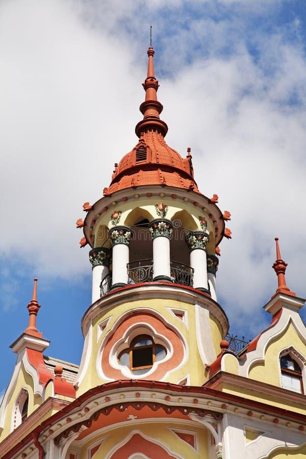 Vieux bâtiment dans Oradea Roumanie photos stock