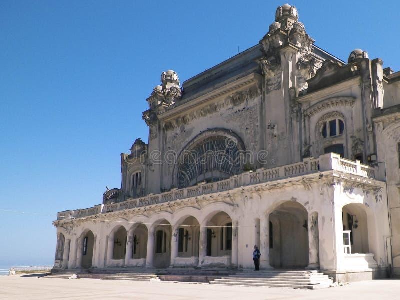 Vieux bâtiment de casino dans Constanta, Roumanie image libre de droits