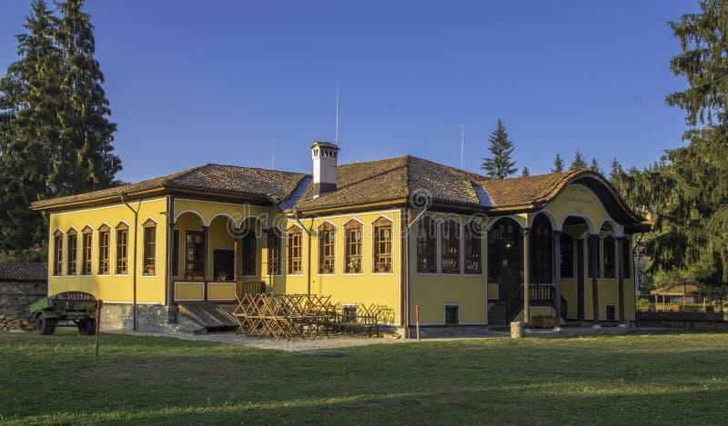 Vieux bâtiment de Shchool photos libres de droits