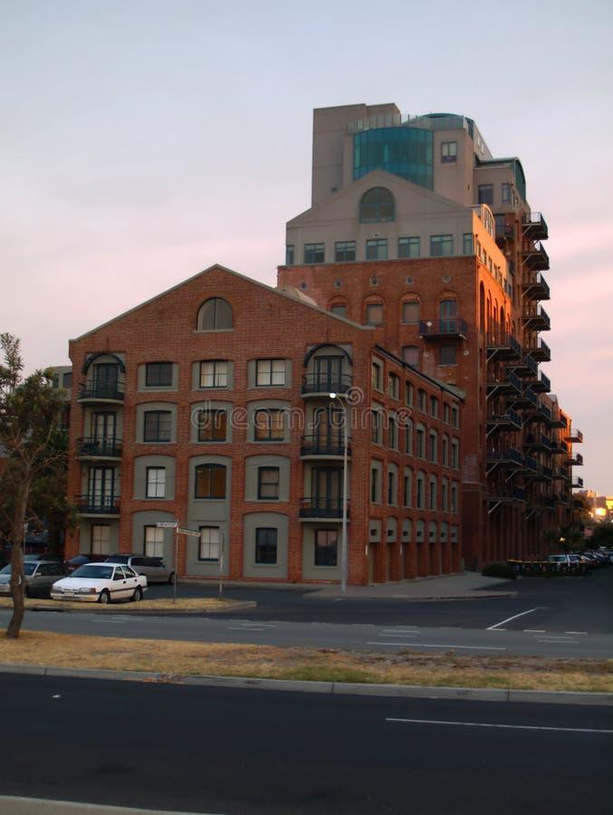 Vieux bâtiment, nouvelle utilisation photographie stock libre de droits