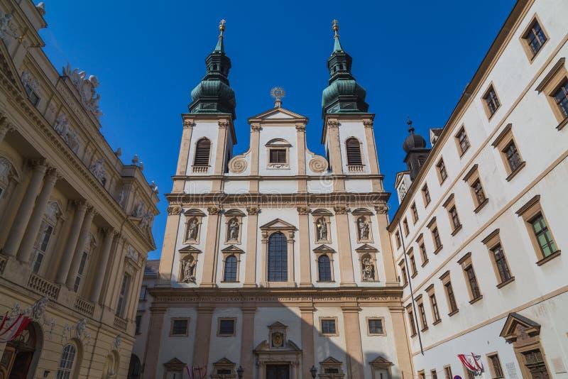 Vieux bâtiments à Vienne image libre de droits